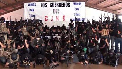 El Cártel Jalisco Nueva Generación recibiría adiestramiento en las zonas serranas.