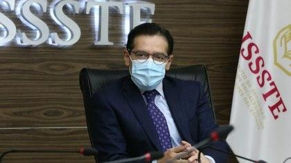 El Director General, Luis Antonio Ramírez Pineda dio a cocer la problemática en una videoconferencia Foto: (ISSSTE)