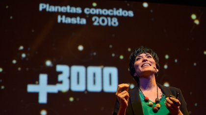 Yamila fue una de las 14 oradoras en la edición 2018 de TEDxRíodelaPlata