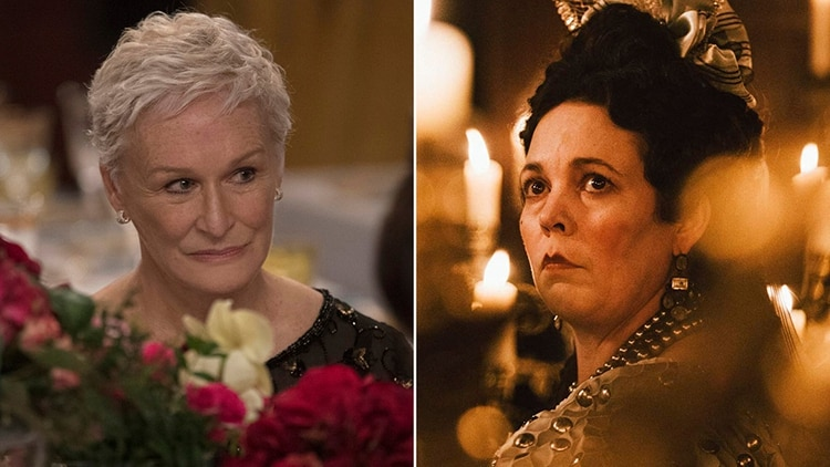 "La pelea sería entre Glenn Close en ""The Wife"" y Olivia Colman en ""The Favourite"""