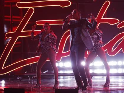 El show de Marc Anthony, Will Smith y Bad Bunny en los Grammy Latinos 2018 (Reuters)