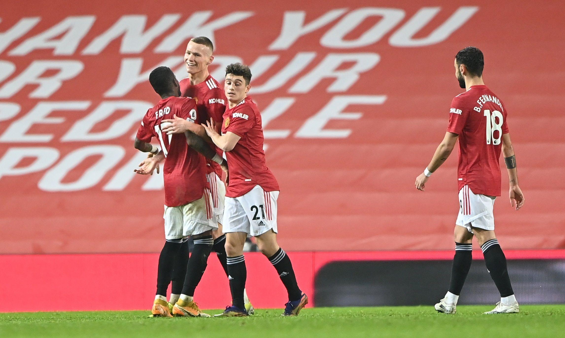 El Manchester United alcanzó la línea dle City en la cima (EFE)