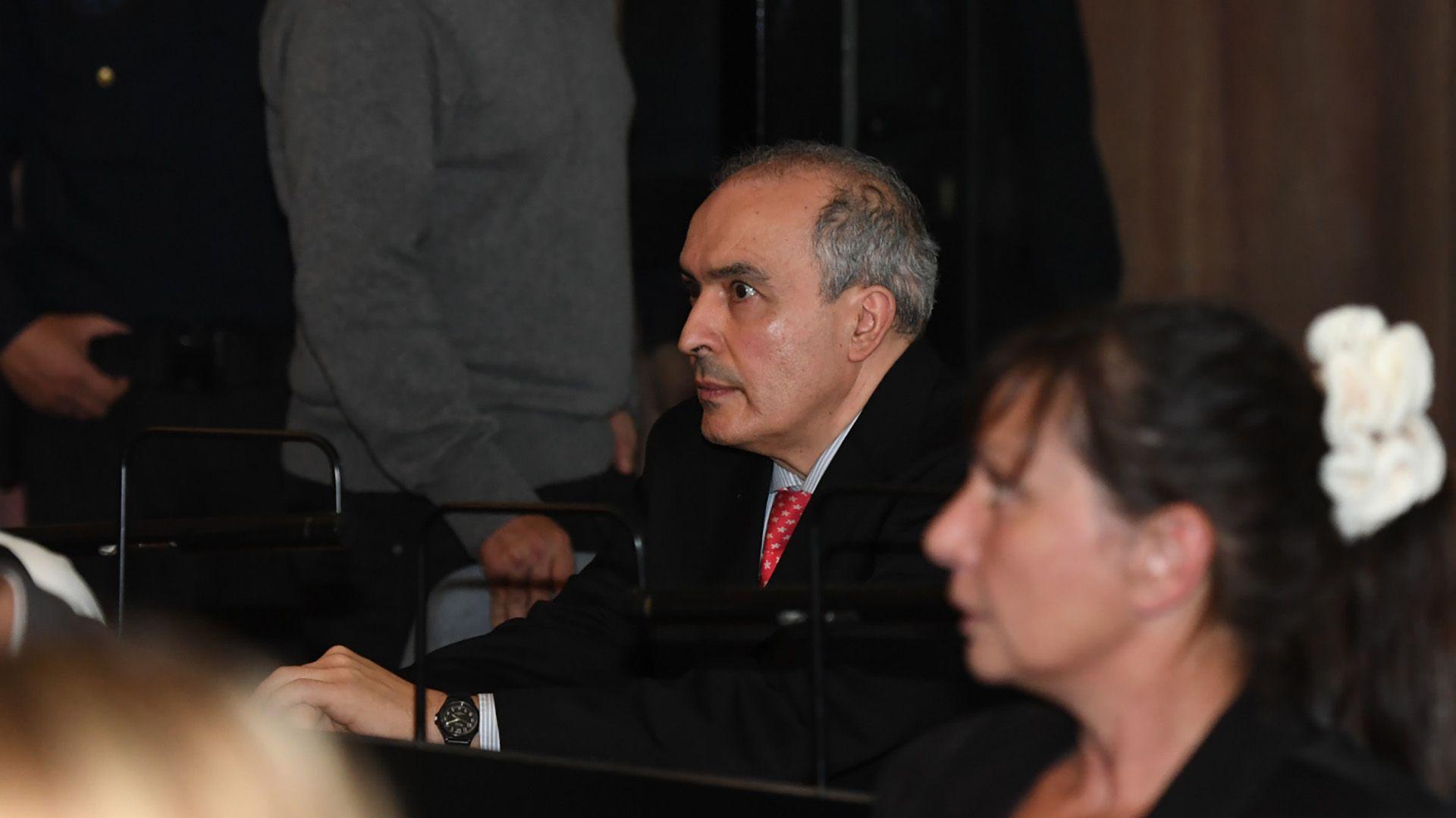 José López durante la lectura del veredicto (Fotos: Maximiliano Luna)