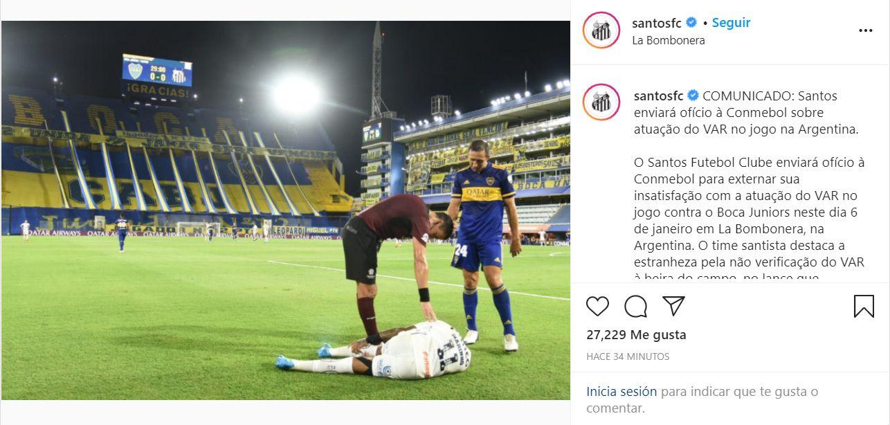 Penal Boca-Santos