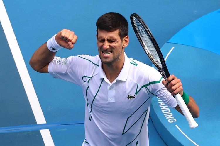 Diego Schwartzman no pudo ante Novak Djokovic y ya no quedan argentinos en el Abierto de Australia