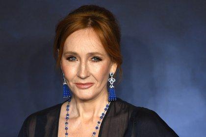 """La escritora británica Joanne K Rowling, una de las firmantes de la carta contra """"el peligro del pensamiento único""""."""
