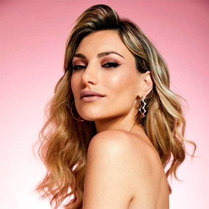 Además de su trabajo en la tevé, Sofía tiene su propia línea de maquillaje
