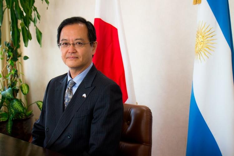 El embajador de Japón en Buenos Aires, Takahiro Nakamae
