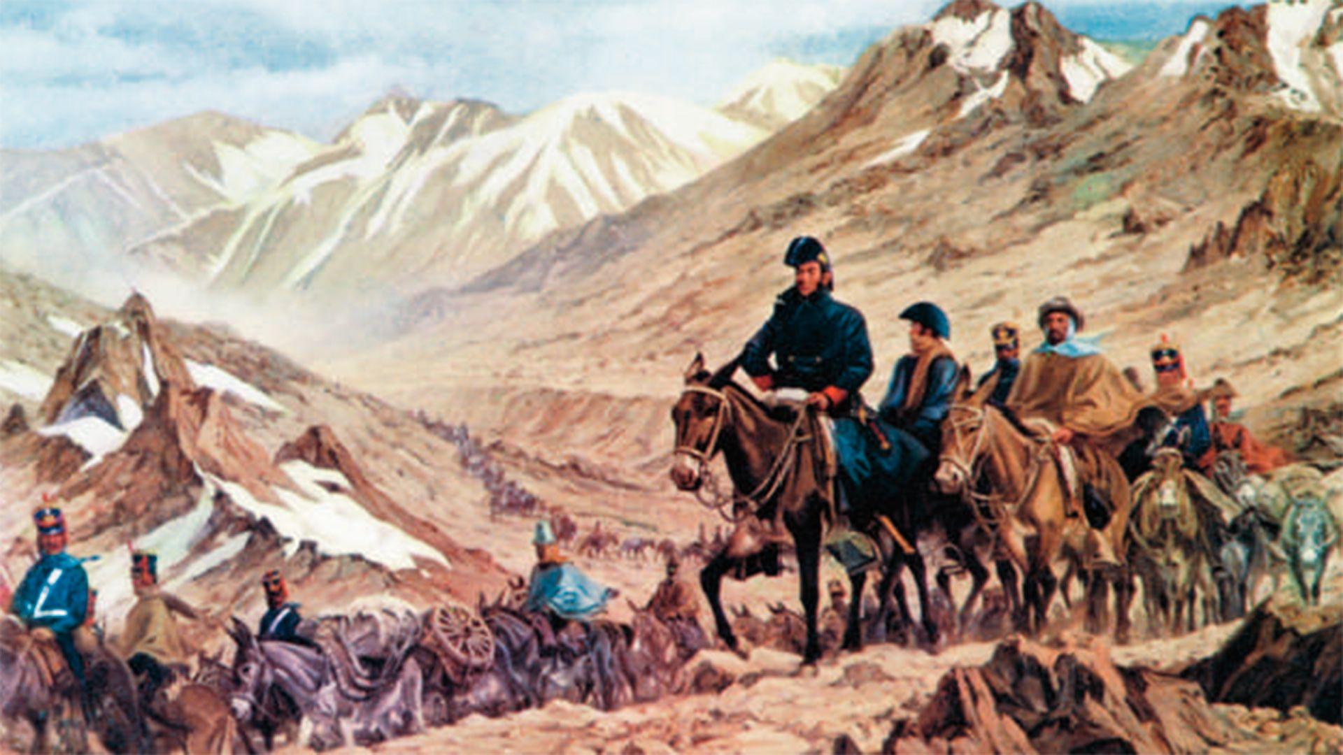 El cruce de los Andes provocó la Independencia de tres países y es recordado como un gesta militar en las páginas de historia