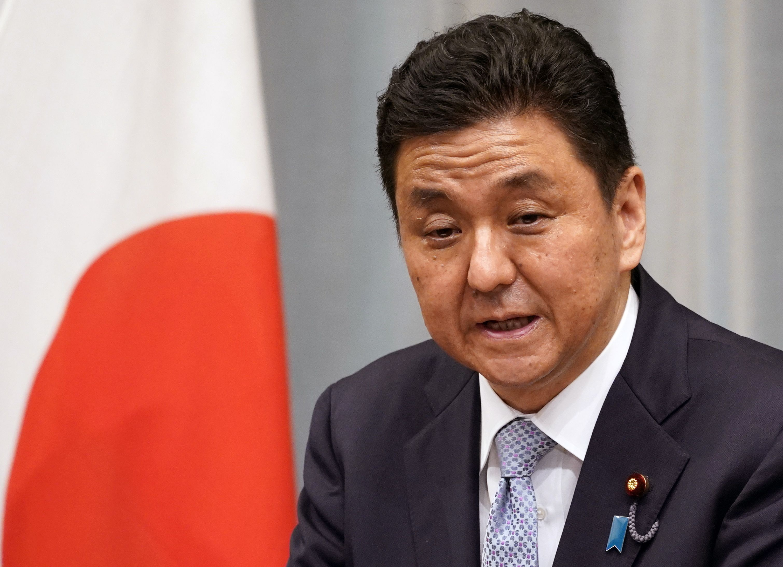 El ministro de Defensa japonés, Nobuo Kishi. EFE/EPA/FRANCK ROBICHON/Archivo