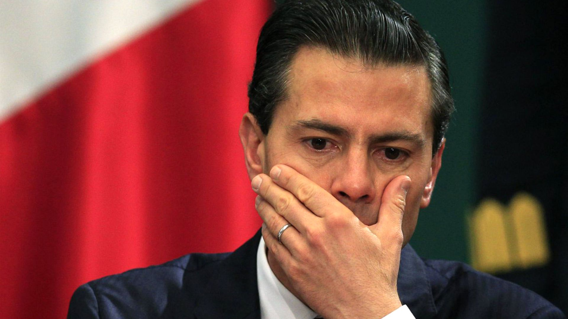 """Enrique Peña Nieto se fue """"reprobado"""" de la Presidencia. (Foto: Reuters)"""