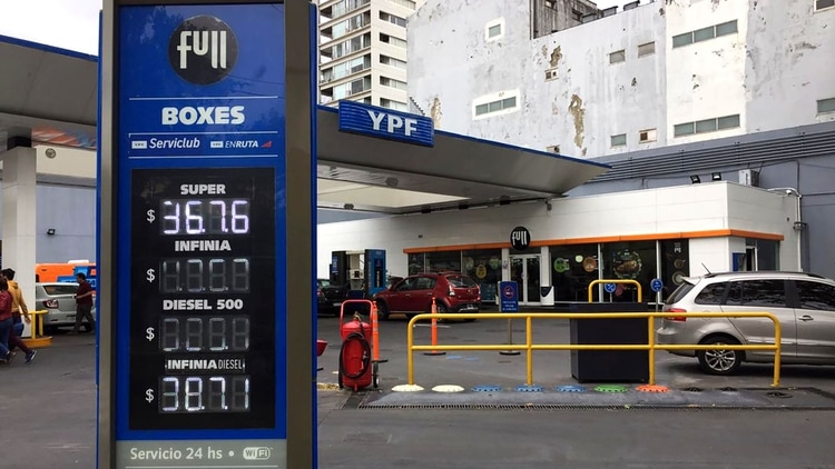 La baja del combustible será a partir de este lunes 7 de enero