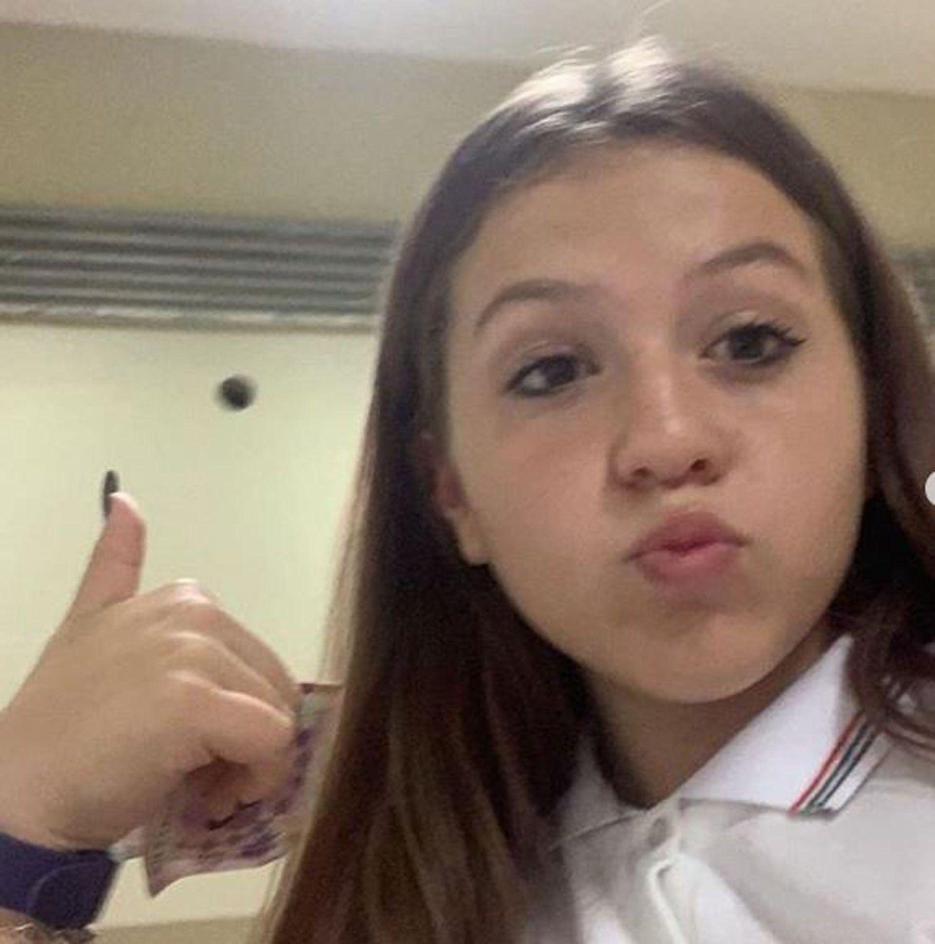 Sol, la hija de El Polaco y Karina comenzó un nuevo ciclo escolar (Instagram)