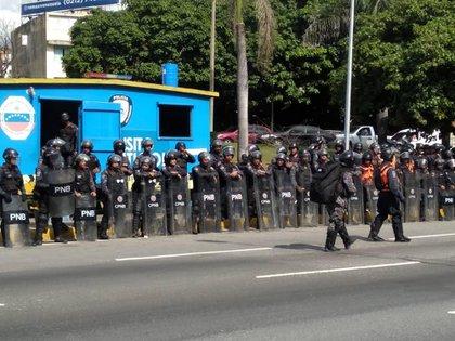 Infobae en las marchas del 16N en Caracas (Maiker Yriarte/Infobae)