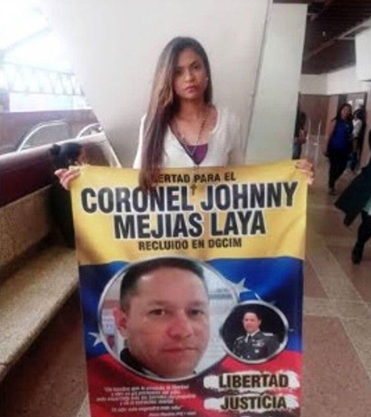 Los familiares piden justicia por el coronel
