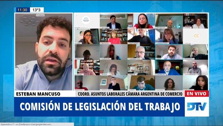 Esteban Mancuso, de la Cámara Argentina de Comercio