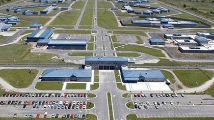 Vista aérea del la cárcel de Ezeiza