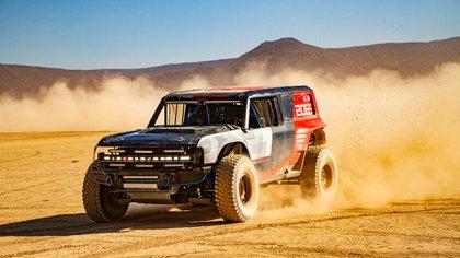 El prototipo de la nueva Ford Bronco en su versión de carreras.