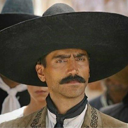 Fernández interpretó en cine al revolucionario Emiliano Zapata (Instagram: alexoficial)