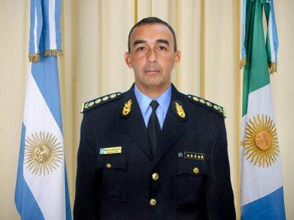 Fernando Romero, jefe de la Policía del Chaco.