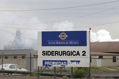 La siderúrgica Altos Hornos de México (AHMSA) en su planta de Monclova, Coahuila (Fotos: Reuters/Daniel Becerril)