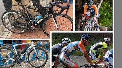 En plena manifestación del paro nacional, atracan a dos ciclistas profesionales de Barbados en Bogotá