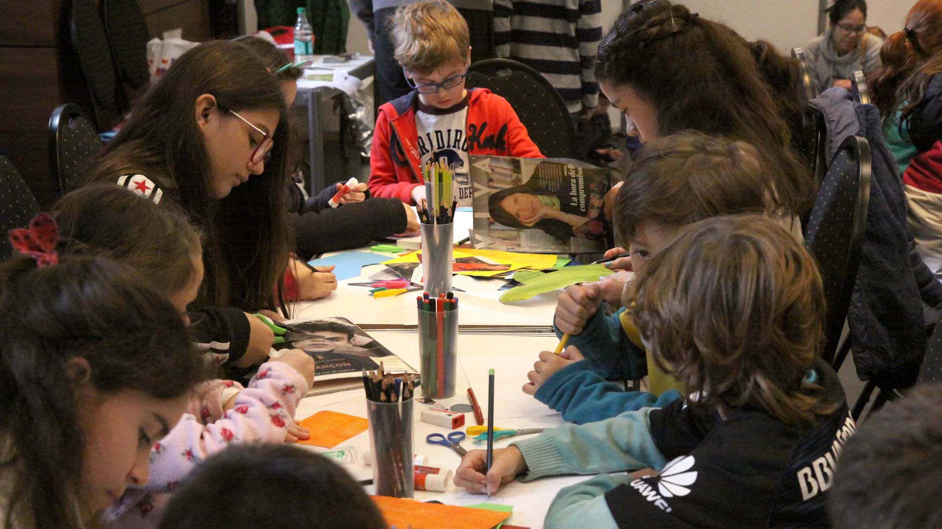 El Espacio para la infancia se encuentra en el 3° piso del CCK (CCK)