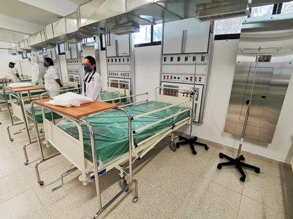 La ocupación hospitalaria en Aguascalientes incrementó en los últimos días Foto: Gobierno de Aguascalientes
