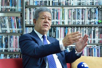 Leonel Fernández fue tres veces presidente de la República Dominicana (EFE/ Diego Sánchez)