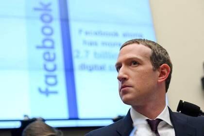 Mark Zuckerberg, durante una comparecencia en el Congreso de Estados Unidos (Foto: REUTERS/Erin Scott)