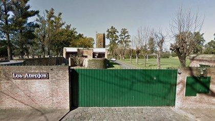 El frente de la quinta de Mauricio Macri (Foto: NA)