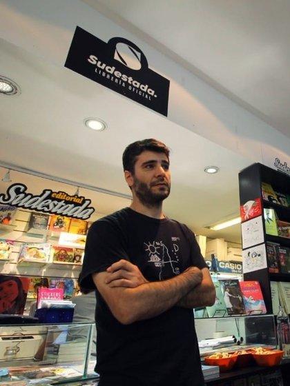 Hugo Montero, director de la revista Sudestada