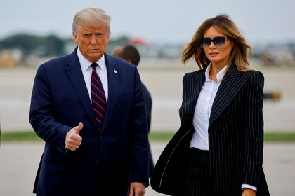 Donald Trump y Melania Trump (Reuters/ Carlos Barria/ File Picture)