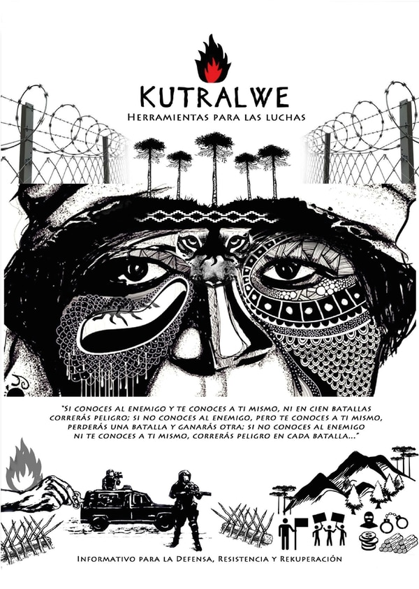 "Tapa de ""Kutralwe, herramientas para las luchas"""