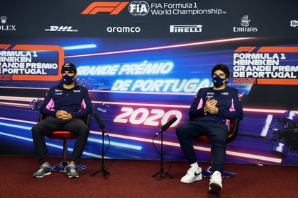 Sergio Pérez suma 74 unidades y su coequipero Lance Stroll tiene  57 puntos en el Campeonato de Pilotos (Foto: Reuters)