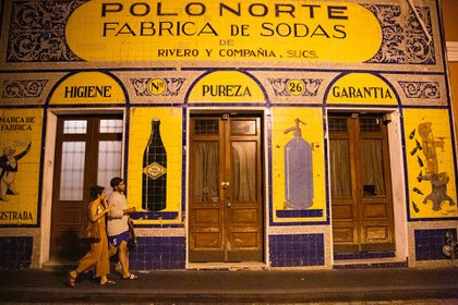 Polo Norte, alguna vez un popular bar gay en San Juan, ha permanecido cerrado desde la tormenta (Érika P. Rodríguez para The New York Times)