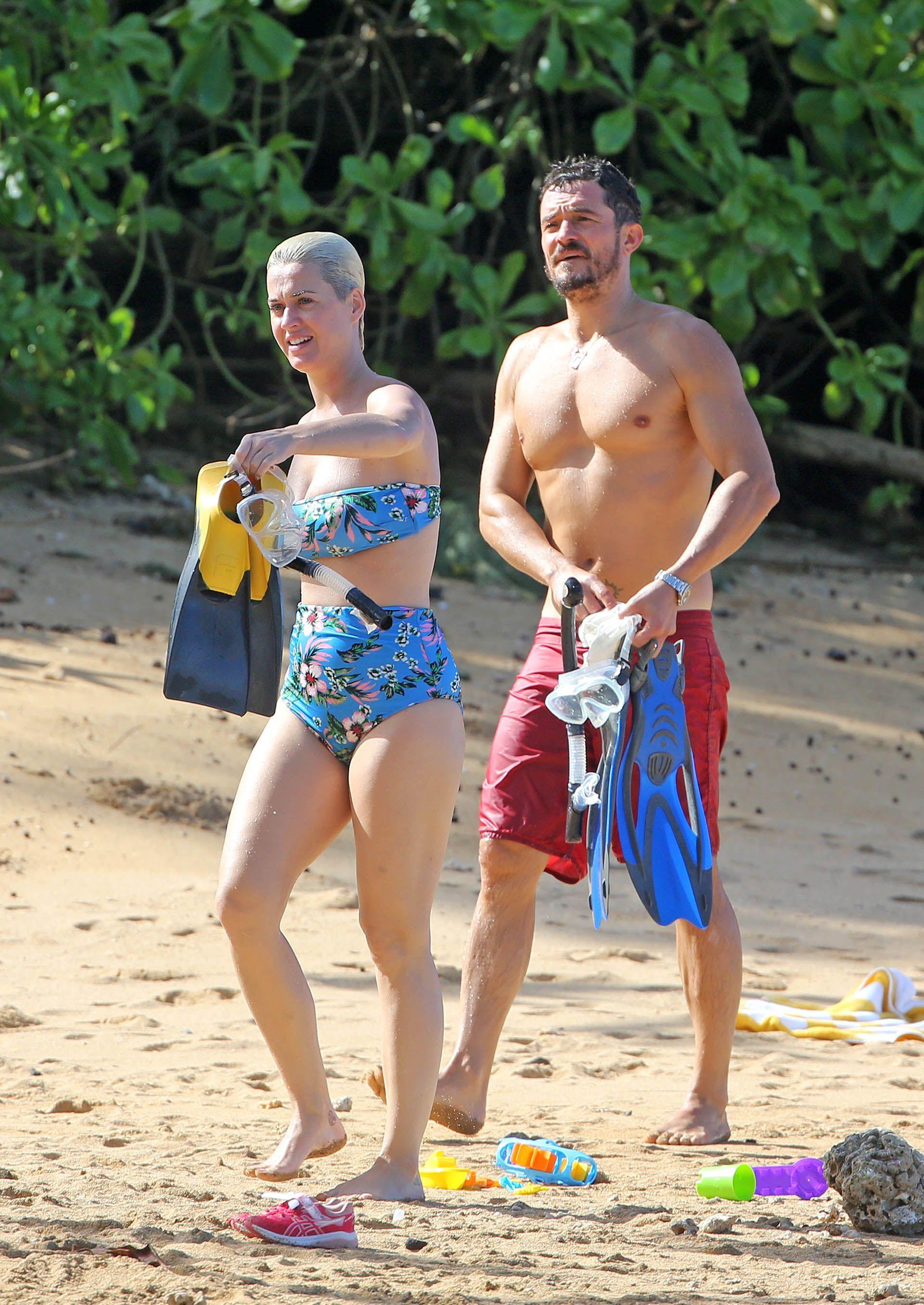 La pareja en unas vacaciones de 2018 (Foto: The Grosby Group)