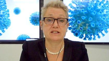 Kate Bingham, ex directora del Grupo de Trabajo sobre Vacunas del Reino Unido