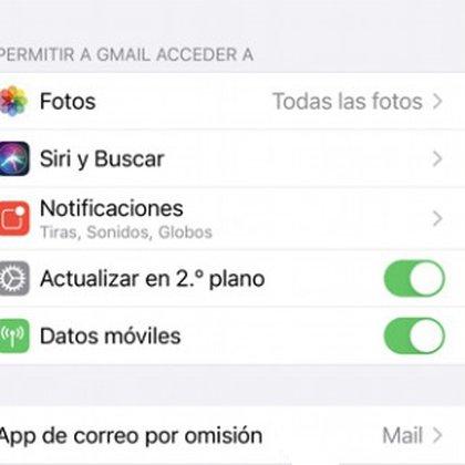En iOS 14 se puede elegir Gmail como correo predeterminado ingresando en Ajustes/Gmail/App de correo por omisión/Gmail.