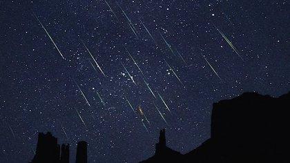 La lluvia de estrellas fugaces se presenta cada año y alcanza su máximo en agosto (Foto: UNAM)