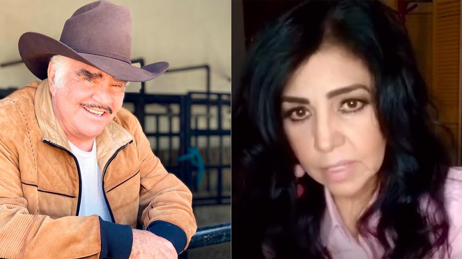 Lupita Castro acusó a Vicente Fernández de acoso