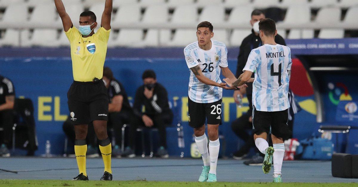 De quedar libre en Boca a ser titular en la Selección y pretendido por  Inter y Manchester United: la historia de Nahuel Molina - Infobae