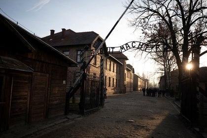 La entrada de Auschwitz. REUTERS/Axel Schmidt