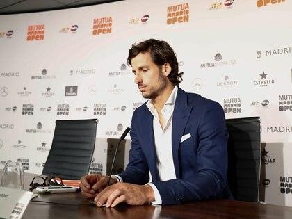 02/05/2019 Feliciano López en la rueda de prensa del Mutua Madrid Open de Tenis DEPORTES  Óscar J.Barroso/AFP7 - Europa Press