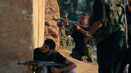 El Ejército de Liberación Sirio se enfrenta a las tropas de la dictadura Reuters 163
