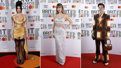 De Harry Styles a Dua Lipa: todos los looks de los Brit Awards