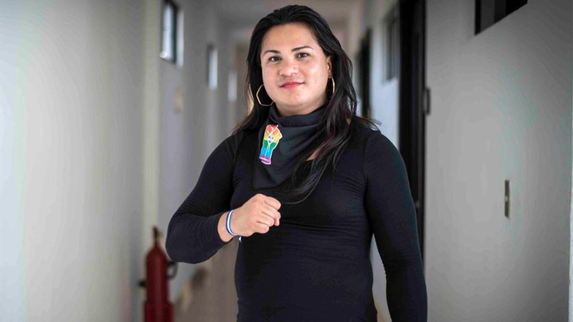 Victoria Obando fue apresada en agosto de 2018 tras participar de una manifestación contra el régimen de Daniel Ortega (LA PRENSA/Oscar Navarrete)
