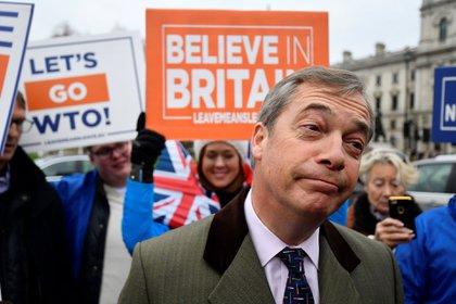 Nigel Farage, uno de los partidarios de la salida del Reino Unido de la Unión Europea (Reuters)