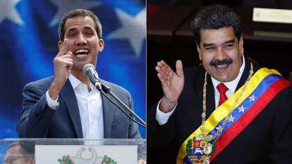 Episodio clave en la disputa entre Juan Guaidó y Nicolás Maduro por el reconocimiento internacional (Reuters)
