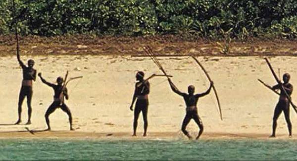 La población de la isla es una de las civilizaciones no contactadas
